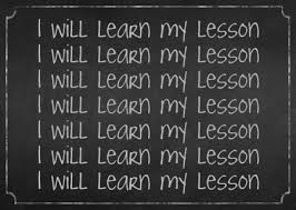 Blog Post - Lessons Learned