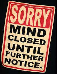 Blog Post - Mind Closed