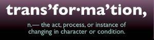 Blog Post - Transformation