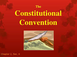 Blog Post - Constitutional Convention