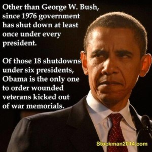 Blog Post B - Obama Shut Down