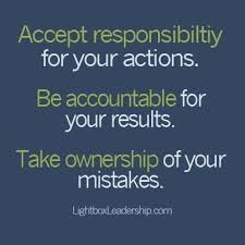 Blog Post A - Accountability