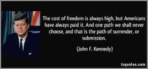 Blog Post - Cost of Freedom