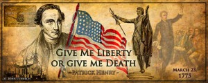 Blog Post 1 - Liberty or Death