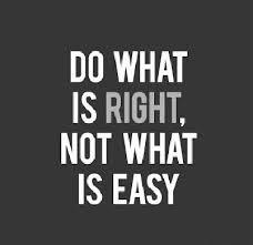 Blog Post 2 - Right Not Easy