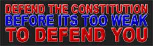 Blog Post - Defend The Constitution