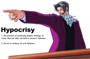 Blog Post 2 - Hypocrisy