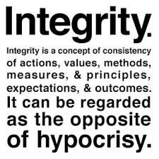 Blog Post 1 - Integrity