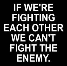 Blog Post - Fighting Each Other
