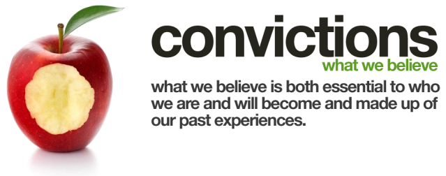 BLOG POST - Convictions