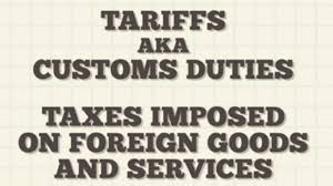 BLOG POST - Tariffs