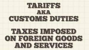 BLOG POST - Tariffs