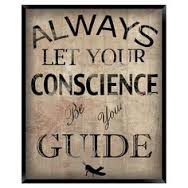 BLOG POST 1 - Conscience