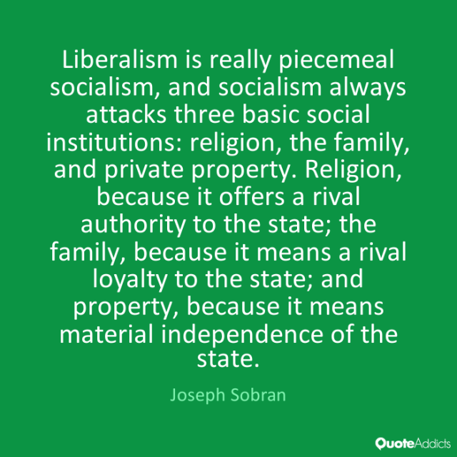 BLOG POST 1 - Liberalism Definition