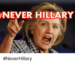 BLOG POST 1 - Never Hillary