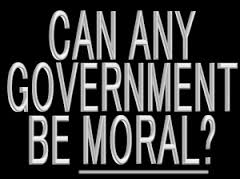 BLOG POST 3 - Government Morality
