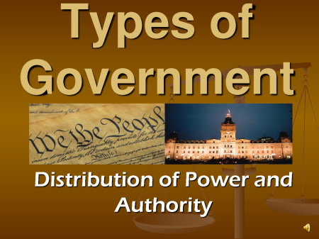 BLOG POST 3 - Types of Government