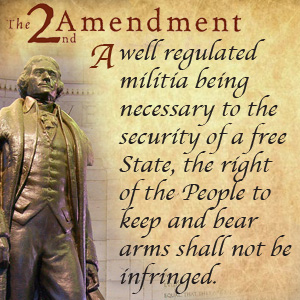 BLOG POST 4 - Second Amendment