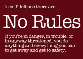 BLOG POST 4 - Self Defense Rules