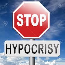 BLOG POST 1 - Hypocrisy