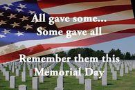 BLOG POST 1 - Memorial Day