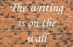 BLOG POST 5 - Writing on the Wall