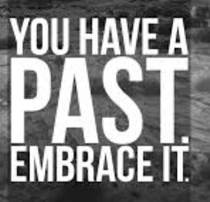 BLOG POST 3 - Embrace the Past