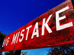 BLOG POST 5 - Big Mistake