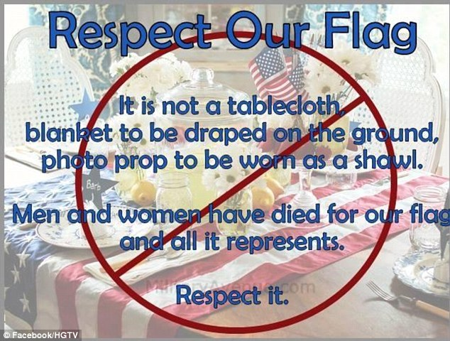 BLOG POST 1 - Respect the Flag