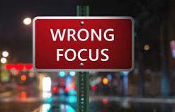 BLOG POST 1 - Wrong Focus