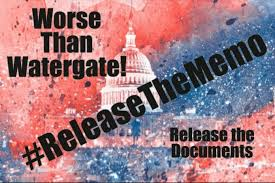 BLOG POST 1 - RELEASE THE MEMO