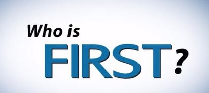 BLOG POST 3 - Who Is First