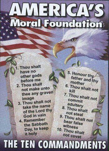 BLOG POST 1 - Ten Commandments