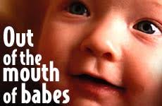 BLOG POST 2 - Mouth of Babes