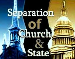 BLOG POST 1 - Church and State