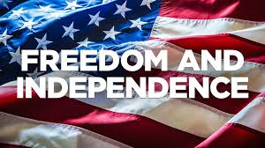 BLOG POST 2 - Independence and Freedom