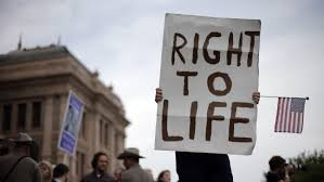BLOG POST 3 - Right to Life