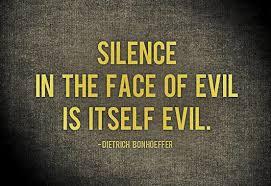 BLOG POST 4 - Silence